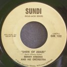 BENNY STRONG~Sheik of Arabi~Sundi 102 VG+ 45