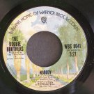 DOOBIE BROTHERS~Nobody~Warner Bros. 8041 (Soft Rock) VG+ 45
