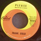 FRANK IFIELD~Please~Capitol 5089  45