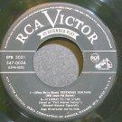 HUGO WINTERHALTER~Music by Starlight~RCA Victor 3051 (Big Band Swing)  45 EP