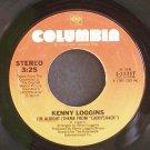 KENNY LOGGINS~I'm Alright~Columbia 11317 (OST) VG+ 45