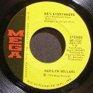 MARILYN SELLARS~He's Everywhere~Mega 1221 VG+ 45