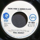 PAUL MAURIAT~Theme From a Summer Place~MGM/Verve 10682 (Easy Listening) Rare VG+ 45