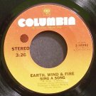 EARTH, WIND & FIRE~Sing a Song~Columbia 10251 (Funk)  45
