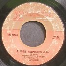 THE KINKS~A Well Respected Man~Reprise 0420 (Classic Rock)  45