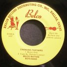 BELCO RHYTHM BOYS BAND~Changing Partners~Belco 358 VG++ 45 EP