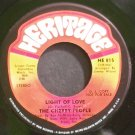 THE CHERRY PEOPLE~Light of Love~Heritage 815 Promo M- 45