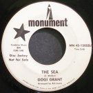 GOGI GRANT~The Sea~Monument 45-1005DJ (Jazz Vocals) Promo VG+ 45