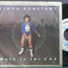 LINDA RONSTADT~Back in the U.S.A.~Asylum 45519 VG+ 45