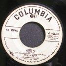 PEGGY KING~Angel Pie~Columbia 40638 (Jazz Vocals)  45