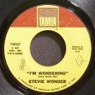 STEVIE WONDER~I'm Wondering~Tamla 54157 (Soul)  45