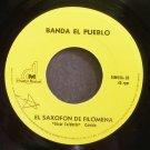 BANDA EL PUEBLO~El Saxofon De Filomena~Dimusia Musical 33 M- Mexico 45
