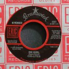 THE CHI-LITES~Oh Girl~Eric 4501 (Soul) VG+ 45