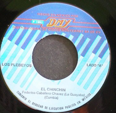 LOS PLEBEYOS~El Chinchin~DMY 0000 M- Mexico 45