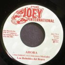 LOS REBELDES DEL BRAVO~Ahora~Joey International 775 M- 45