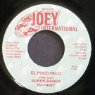 SUPER BANDA NAYARIT~El Poco Pelo~Joey International 810 M- 45