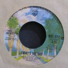 AMERICA~Today's the Day~Warner Bros. 8212 (Folk-Rock) VG+ 45