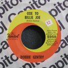 BOBBIE GENTRY~Ode to Billie Joe~Capitol 5950 VG++ 45