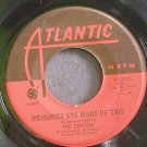 THE DRIFTERS~Memories Are Made of This~Atlantic 2325 (Soul) VG+ 45