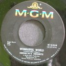 HERMAN'S HERMITS~Wonderful World~MGM K13354 (British Invasion)  45