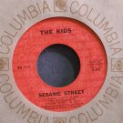 JIM HENSON~Sesame Street~Columbia 45207 (Children) VG++ 45