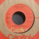 KATHI MCDONALD~Freak Lover~Capitol 3835 (Psychedelic Rock) Rare M- 45