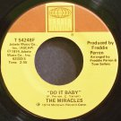 THE MIRACLES~Do it Baby~Tamla 54248F (Soul) VG+ 45