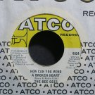 BEE GEES~How Can You Mend a Broken Heart~ATCO 6824 VG+ 45