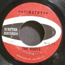 THE BUOYS~Timothy~Scepter 12275 (Soft Rock)  45