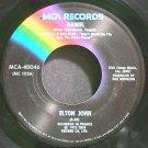 ELTON JOHN~Daniel~MCA 40046 (Soft Rock) VG+ 45