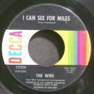 THE WHO~I Can See for Miles~Decca 32206 (Psychedelic Rock)  45