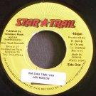 JAH MASON~Ina Dah Time Yah~Star Trail NONE VG+ Jamaica 45