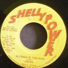 JUDAS~Blessed is the Man~Shelly Power NONE VG+ Jamaica 45