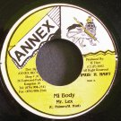 MR. LEX~Mi Body~Annex NONE VG+ Jamaica 45