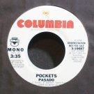 POCKETS~Pasado~Columbia 10687 (Northern Soul) Promo M- 45