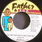 THRILLER U~You're the Only One for Me~Father & Son NONE VG++ Jamaica 45