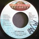 VYBZ KARTEL~No Beating~Renaissance NONE VG++ Jamaica 45
