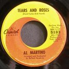 AL MARTINO~Tears and Roses~Capitol 5183  45