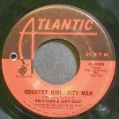 BILLY VERA & JUDY CLAY~Country Girl - City Man~Atlantic 2480 (Soul) VG+ 45