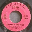 THE BYRDS~All I Really Want to Do~Columbia 43332 (Classic Rock)  45
