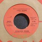 EDWARD BEAR~Last Song~Capitol 3452 (Soft Rock) VG+ 45
