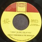 SMOKEY ROBINSON & THE MIRACLES~I Don't Blame You at All~Tamla 54205 (Soul) VG+ 45