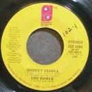 LOU RAWLS~Groovy People~Philadelphia Int'l 3604 (Soul) VG++ 45
