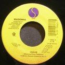 MADONNA~Vogue~Sire 19863 (Synth-Pop) M- 45