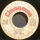 BOBBY WOOD~If I'm a Fool for Loving You~Cinnamon 790 Rare 45
