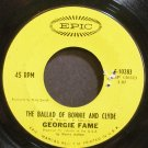 GEORGIE FAME~The Ballad of Bonnie and Clyde~EPIC 10283 (Jazz Vocals) VG+ 45