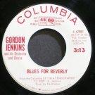 GORDON JENKINS~Blues for Beverly~Columbia 42981 (Big Band Swing) Promo VG++ 45