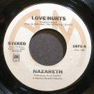 NAZARETH~Love Hurts~A&M 1671-S (Classic Rock) VG+ 45