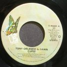 TONY ORLANDO & DAWN~Cupid~Elektra 45302 VG+ 45
