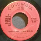 BOBBY BARNETT~Image on Your Mind~Columbia 44861 VG+ 45
